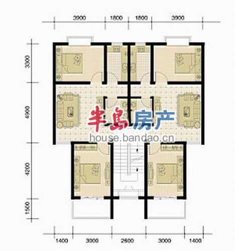 """户型图-翡翠城-青岛房产图片-半岛房产""""在青岛上半岛!"""