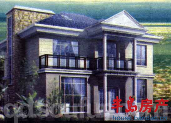 青岛仰口美式别墅
