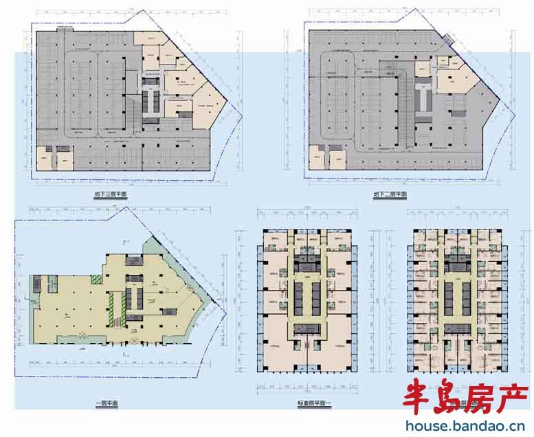 """立体图楼盘相册-青岛房产新楼盘-半岛房产""""在青岛买房"""