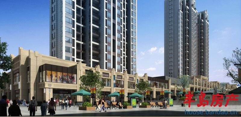新楼盘 新楼推荐  保利里院里位于四方区嘉定路与