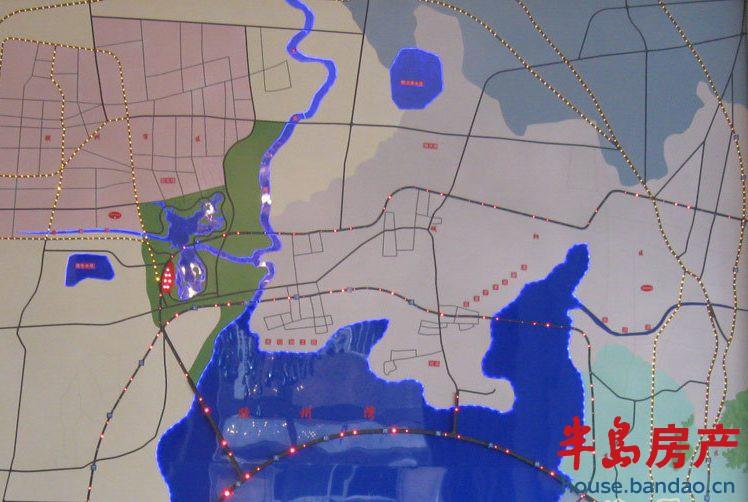"""中信森林湖位置图楼盘相册-青岛房产新楼盘-半岛房产"""""""