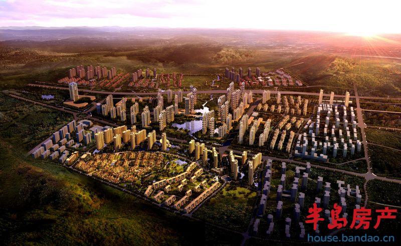 """时代城-青岛房产新楼盘-半岛房产""""在青岛买房上半岛网"""