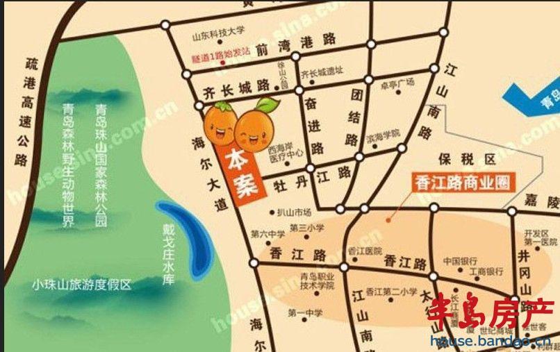 """楼盘相册-青橙时代-青岛房产图片-半岛房产""""在青岛上!"""