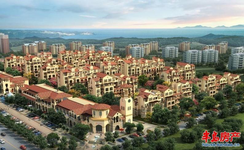 """海尔山海湾效果图-青岛房产新楼盘-半岛房产""""在青岛上"""