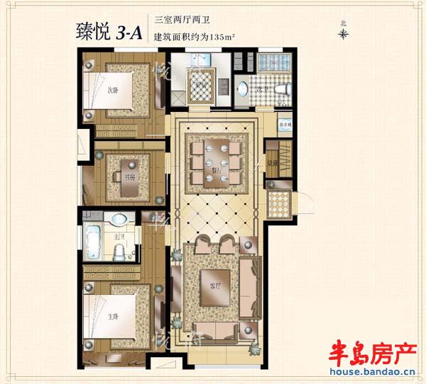 """楼盘相册-华润中心悦府-青岛房产图片-半岛房产""""在上!"""
