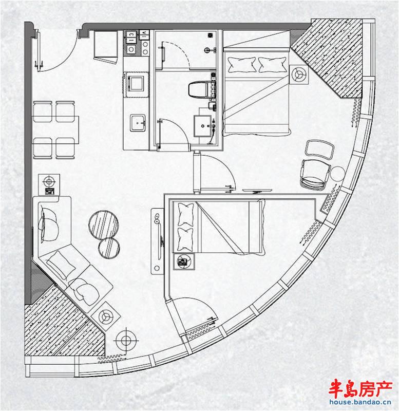 中联·自由港湾主推40-53平套一精装公寓,位于二期1号楼。精装公寓,均价15000元/平,含3000元/平的精装修,购房赠送800元/平全套品牌家具家电。准现房销售,2015年7月30日即可入住。 2015-05-06