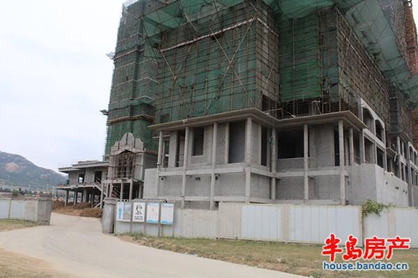 """绿城蓝岸北区实景图-青岛房产新楼盘-半岛房产""""在青岛"""