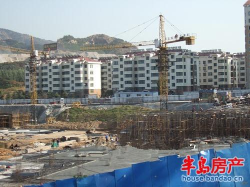 """山水嘉园实景图-青岛房产新楼盘-半岛房产""""在青岛买房"""