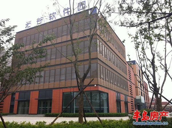 """光谷产业园实景图-青岛房产新楼盘-半岛房产""""在青岛上"""
