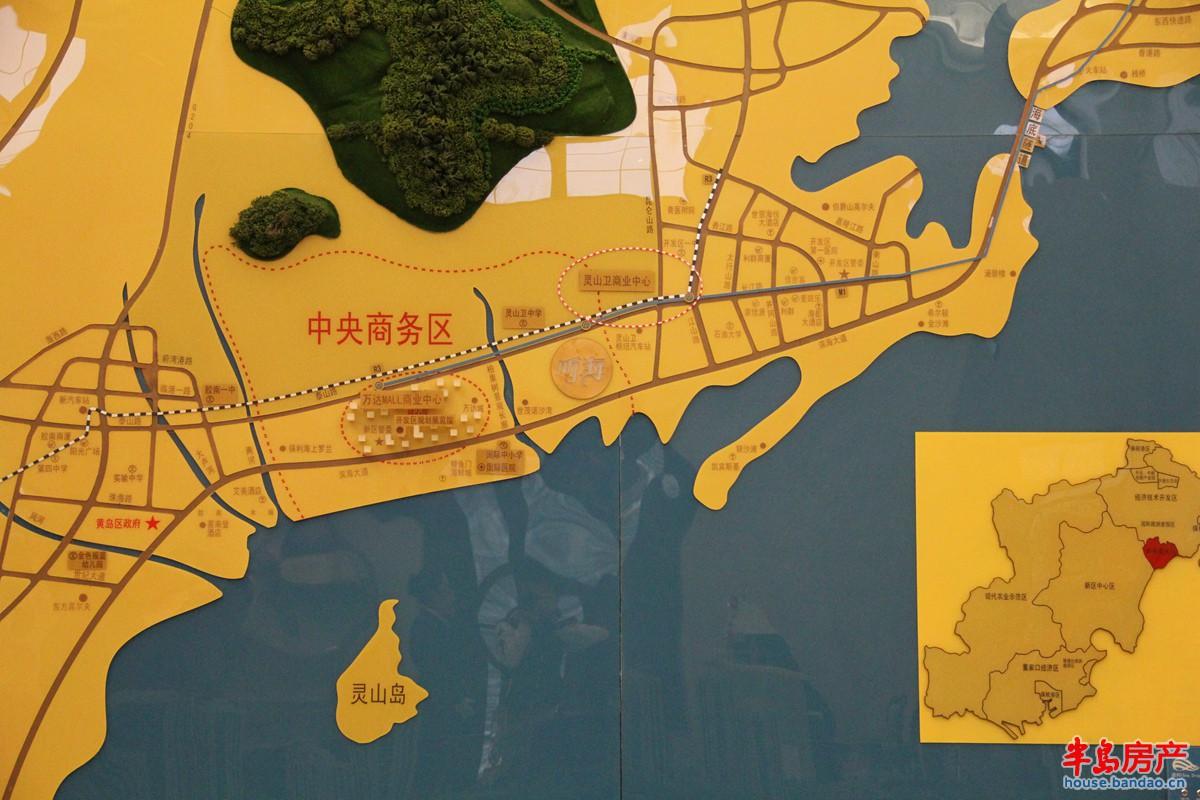"""区位图交通图-青岛房产新楼盘-半岛房产""""在青岛买房上"""
